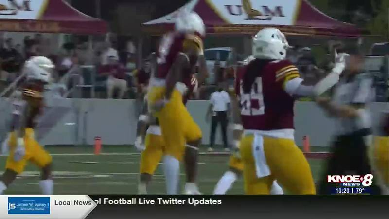 ULM football defeats Jackson State 12-7 securing their first win in 655 days.