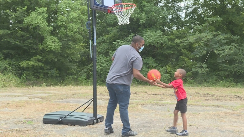 The sheriff's office says it's all about community helping community. Nine more hoops will be...