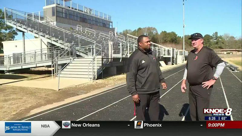 Union's star running back gets championship advice.