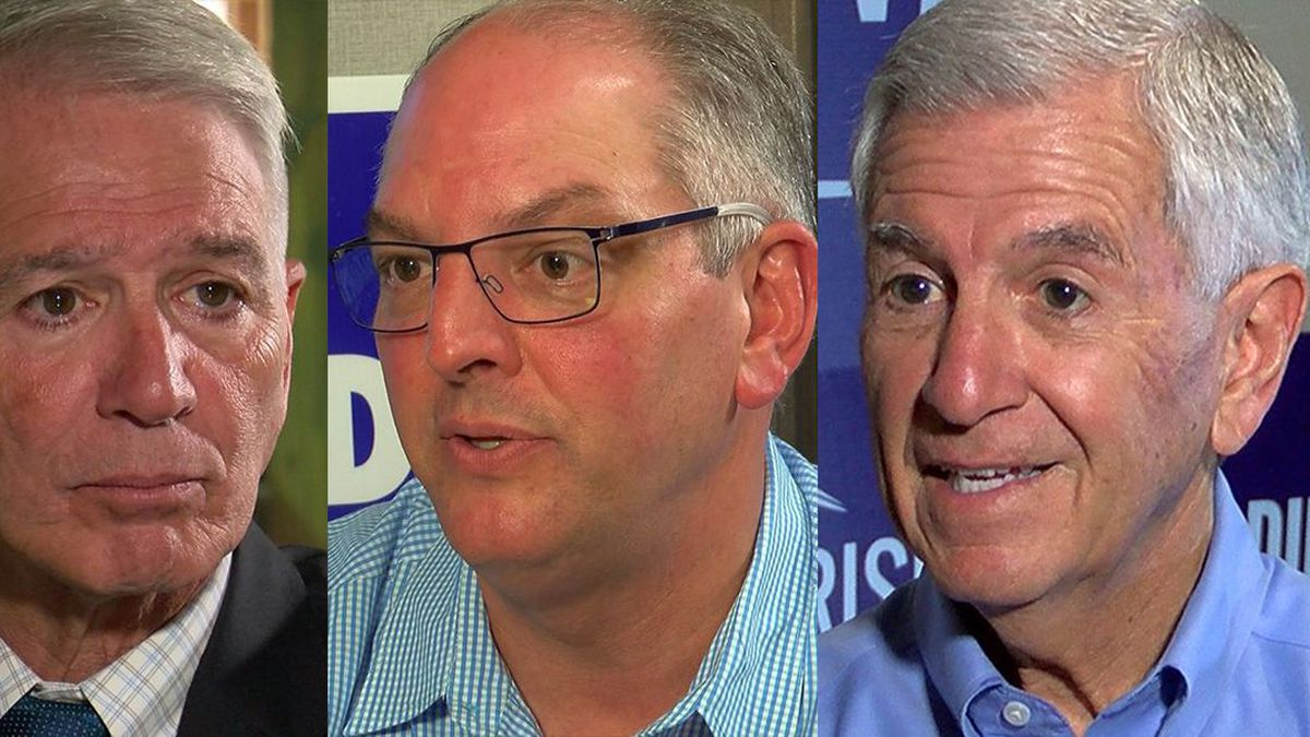 Ralph Abraham, Governor John Bel Edwards, and Eddie Rispone are all running to be the next...