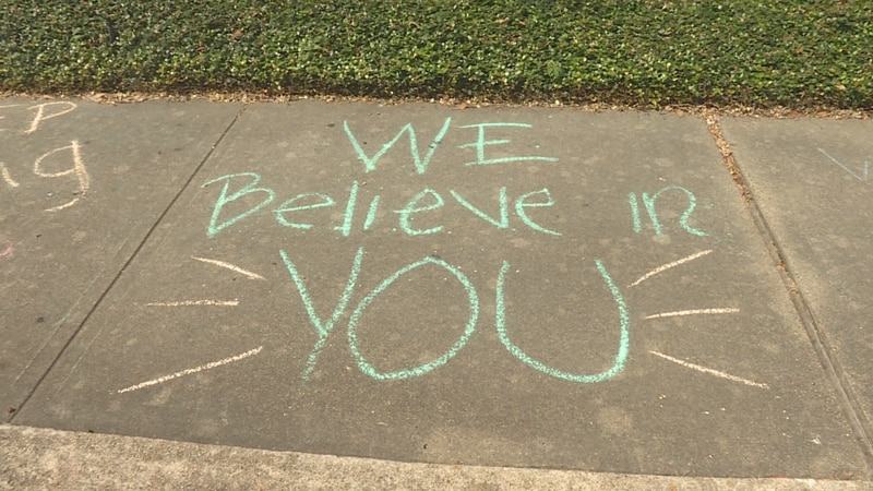 """Kind words like """"we believe in you"""", """"you are stronger than you think"""", and """"be brave"""" can go a..."""