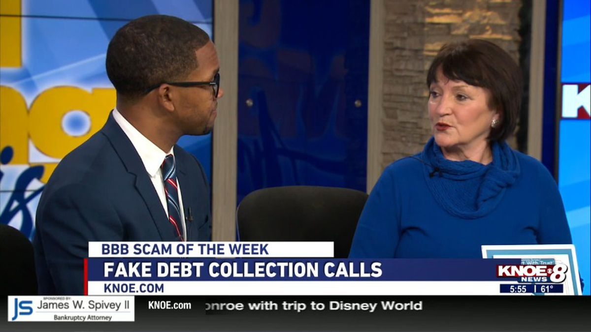 Joann Deal with the Monroe BBB discusses the importance of knowing the salute of limitation on debt. Source: KNOE