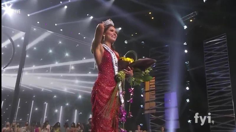 Andrea Meza, who has a software engineering degree, beat out Miss Brazil at the end of the night.
