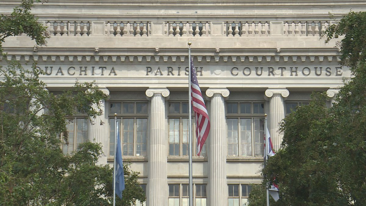 The 4th Judicial District Courthouse in Ouachita Parish