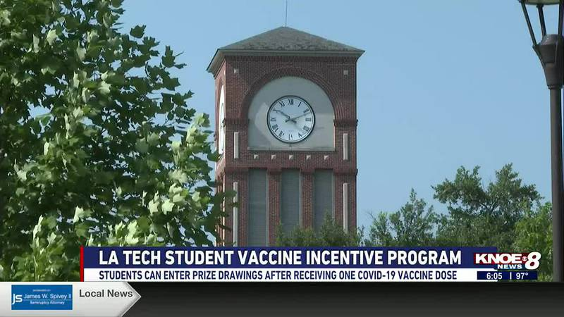 Students can enter prize drawings after receiving one COVID-19 vaccine dose.
