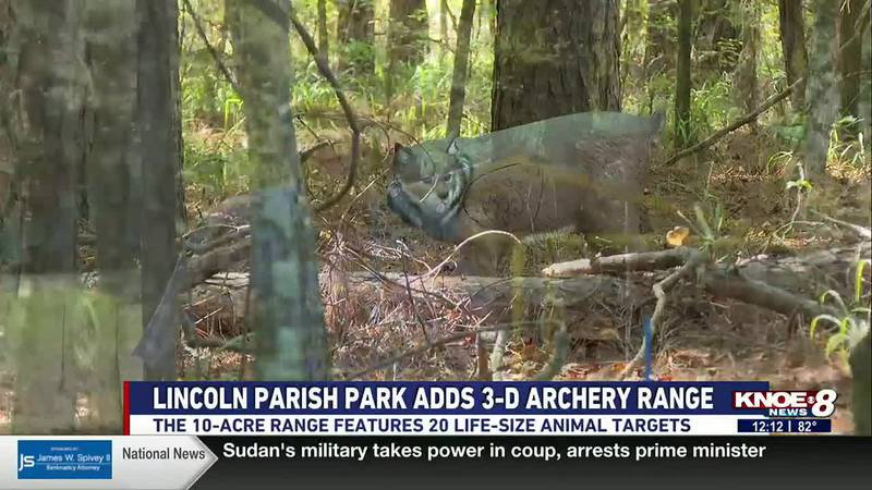It's the only archery range open to the public in Lincoln Parish.
