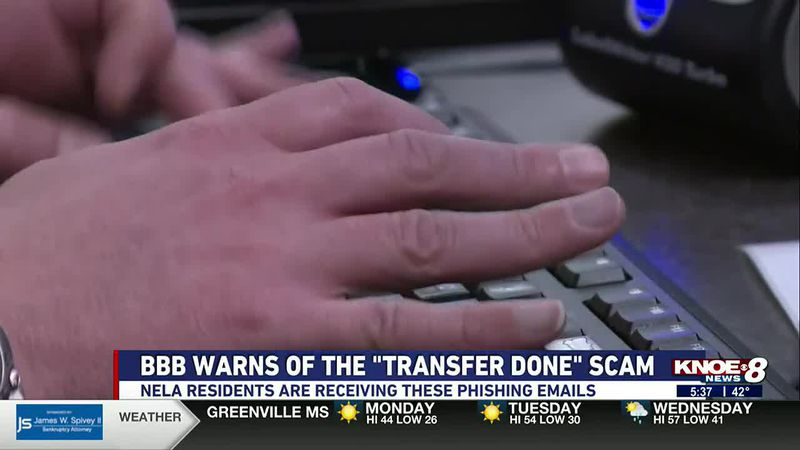 The Better Business Bureau says they're getting more reports of scam emails with the subject...