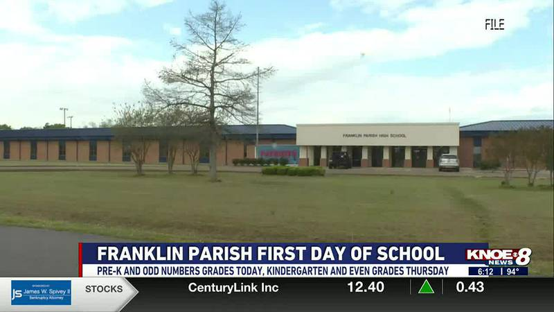 Instead of the normal school week, Franklin Parish schools will be implementing a four-day...