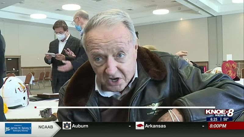 Bobby Bowden talks about his son Terry's confidence coaching ULM football.