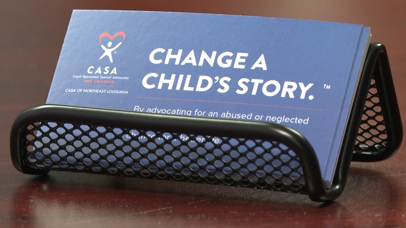 At the end of June, there were approximately 380 children in foster care and only 110 CASA...