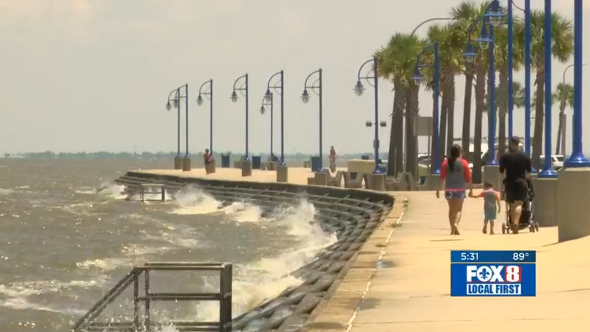 The bacteria levels ebb and flow with the tide, so check your favorite beaches before you head out. (Courtesy: WVUE)