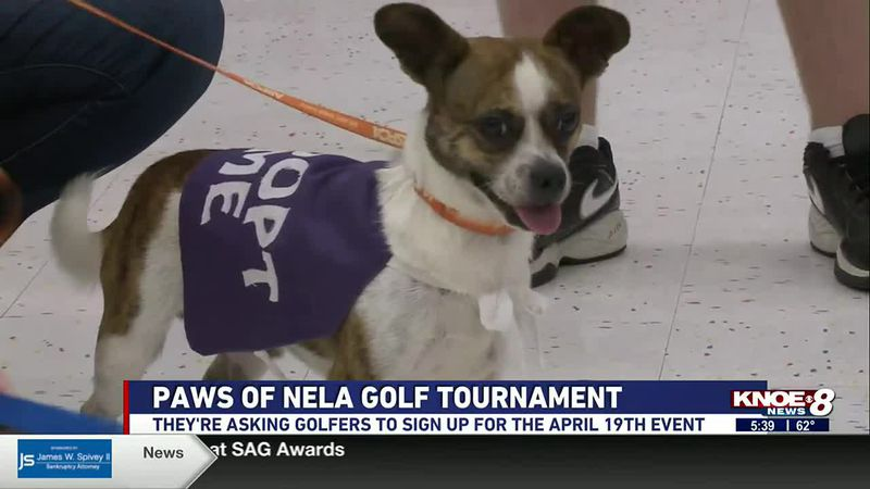 PAWS of NELA is asking golfers to sign up for their charity golf tournament on April 19th.