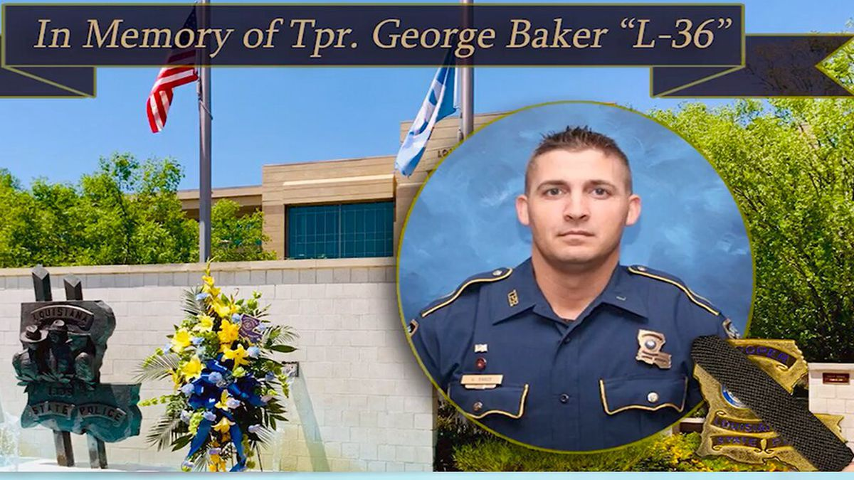 Louisiana State Police Trooper George Baker / Source: LSP