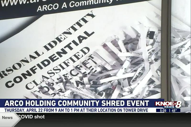 The BBB is urging people to take advantage of ARCO's free shredding event Thursday, April 22....
