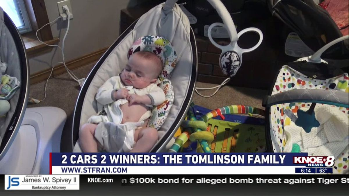 We introduce you to the Tomlinson Family in our 2 Cars 2 Winners segment this week. (KNOE) -