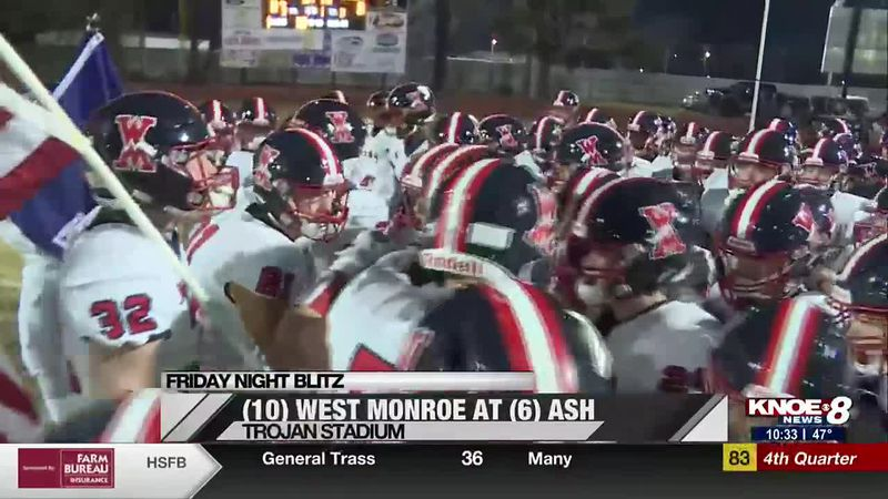 West Monroe falls to ASH in the semifinals.