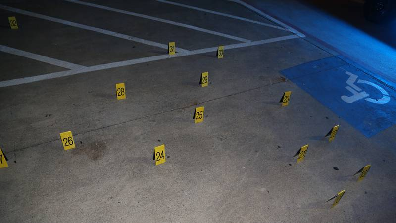Two local people were injured in a shootout near Dallas, Texas.