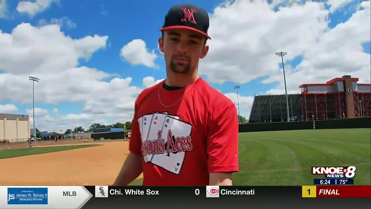 West Monroe's Kade Pittard is this week's Aaron's Ace as the Rebels prepare for the LHSAA...