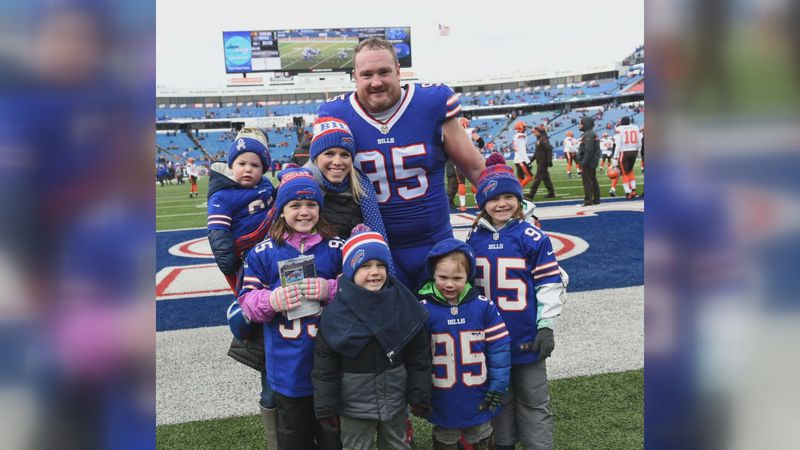 """Kyle Williams is officially """"retired,"""" but that does not mean his life has slowed down one bit."""