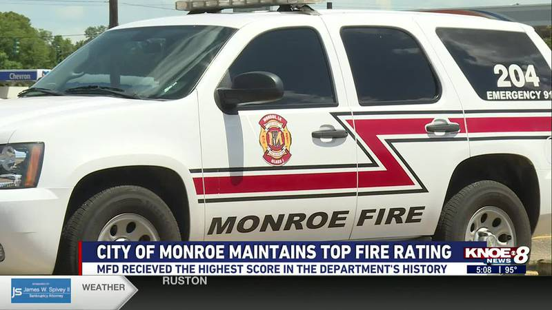 Monroe maintains top fire rating