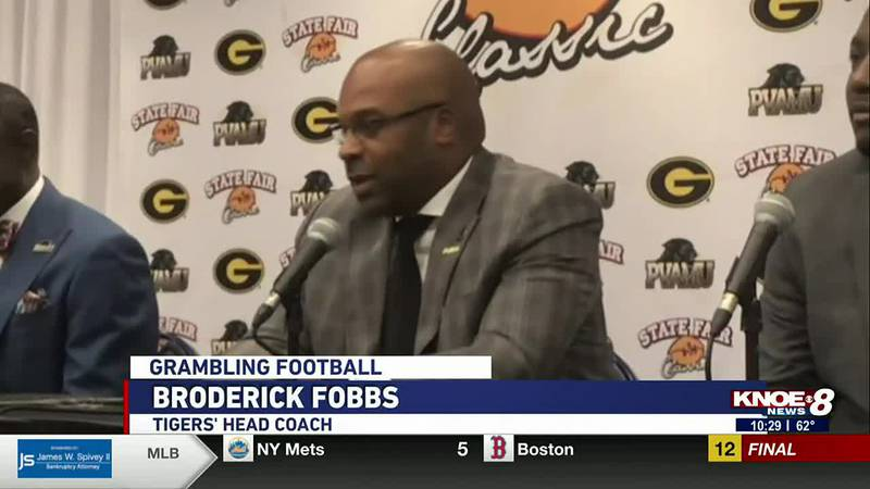 The Grambling Tigers look to get their second win of the season against Prairie View in the...