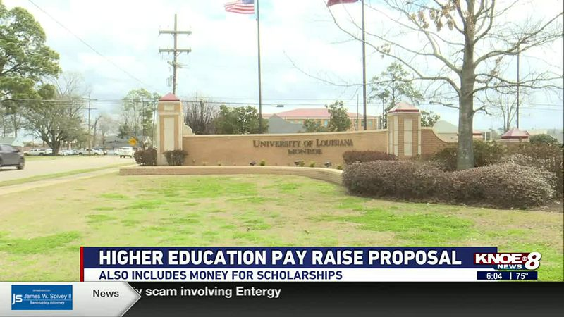 Pay raises may be on the way for higher education teachers.