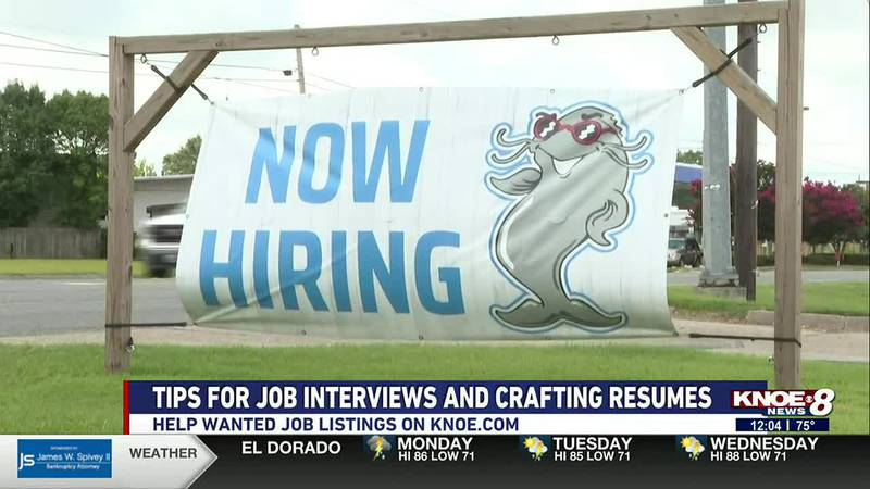 """You can find job listings on the """"Help Wanted"""" tab on our website."""