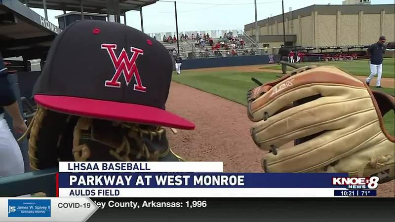 Sports Director Aaron Dietrich shares highlights from northeast Louisiana LHSAA baseball teams...