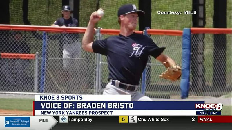 Former OCS and Louisiana Tech pitcher Braden Bristo is turning heads in the Minor League.