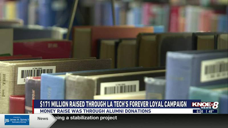 la tech receives millions through alumni donations