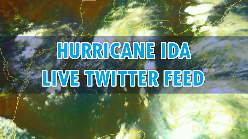 Ida Live Twitter Feed