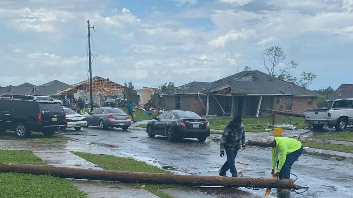 File photo of severe weather damage. / Source: KNOE