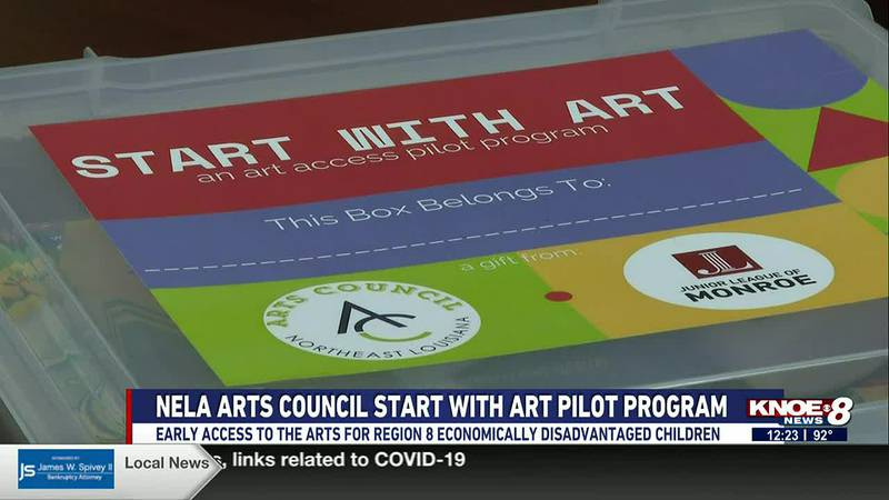 Start With Art will give Region 8's economically disadvantaged children early access to the arts.