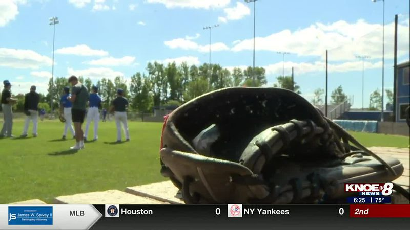 Sterlington and Neville high schools prepare for the quarterfinal round of the LHSAA baseball...