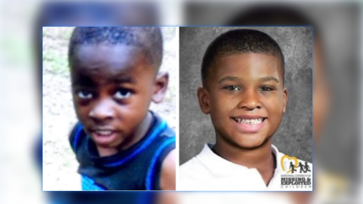 Rondreiz 'Junior' Phillips when he was reported missing in 2018 and as a 7-year-old through age...