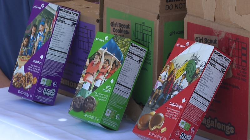Cookie donations for essential workers and food banks can be donated online, at a cookie booth...