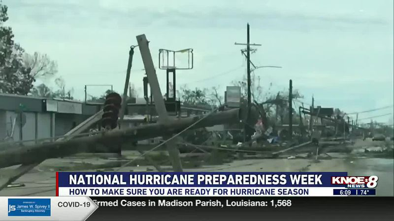 It's National Hurricane Preparedness Week. Experts say you should have a solid plan before a...