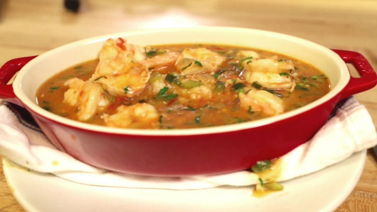 If you cook a big pot of rice and serve this etouffee everybody's going to be happy. (Source:...
