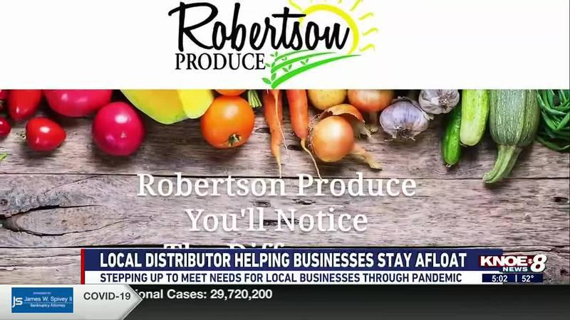 Robertson Produce in Monroe, La
