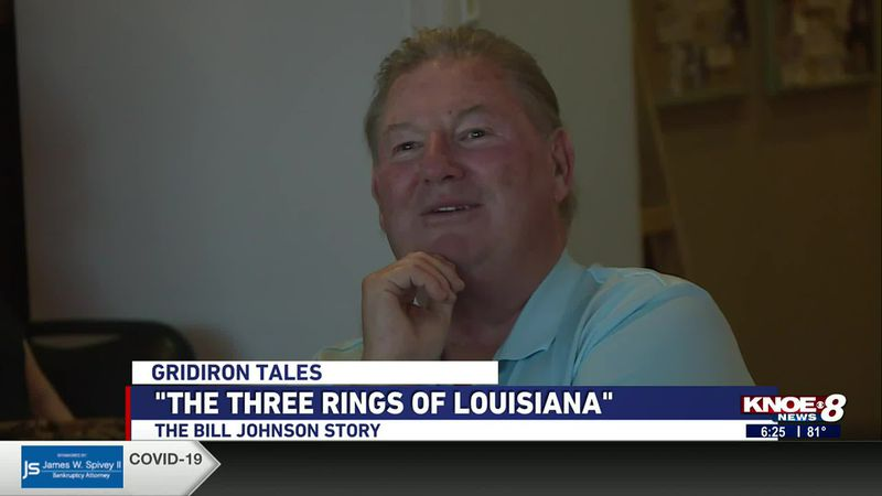 Bill Johnson has now won a world, national and state championship representing Louisiana...