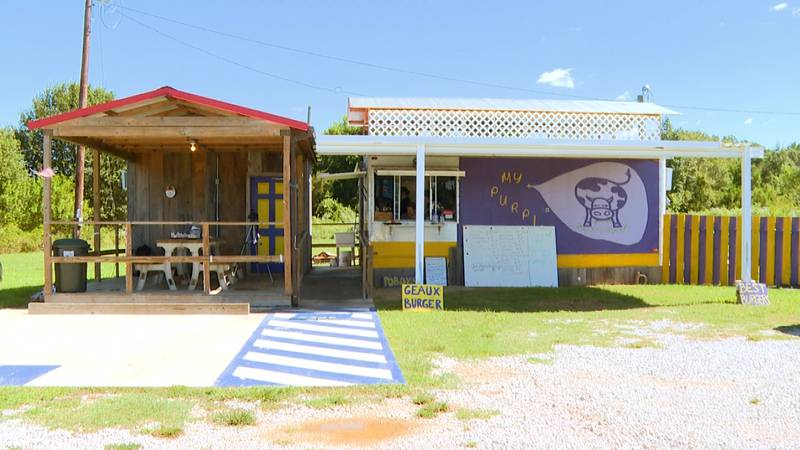My Purple Cow sits on Highway 425 as you get into Winsborrow, LA. It is a unique place to head...