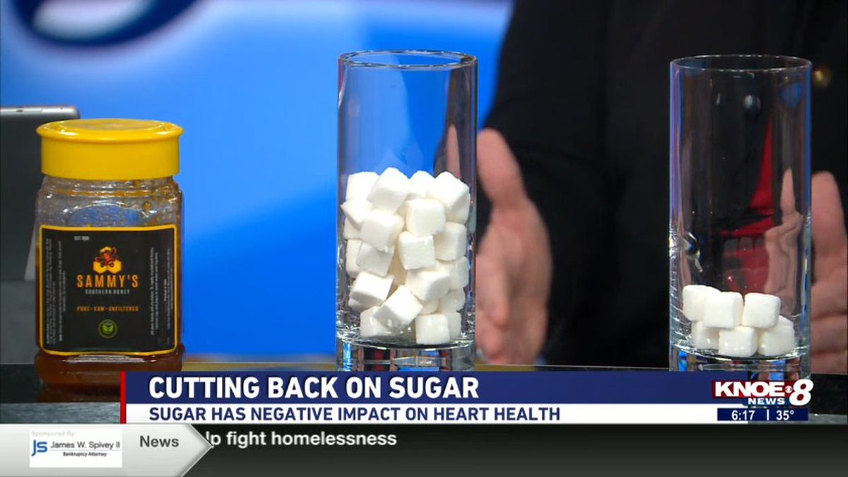 Jen Avis disses the impacts sugar can have on one's heart health. <br />(Souce: KNOE)