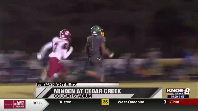 High school football highlights and scores from northeast Louisiana.