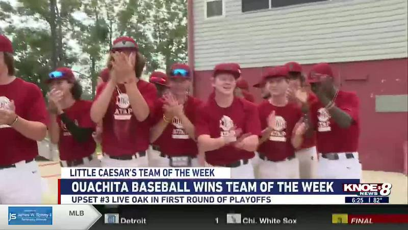Ouachita baseball wins Team of the Week after the first round of LHSAA playoffs.