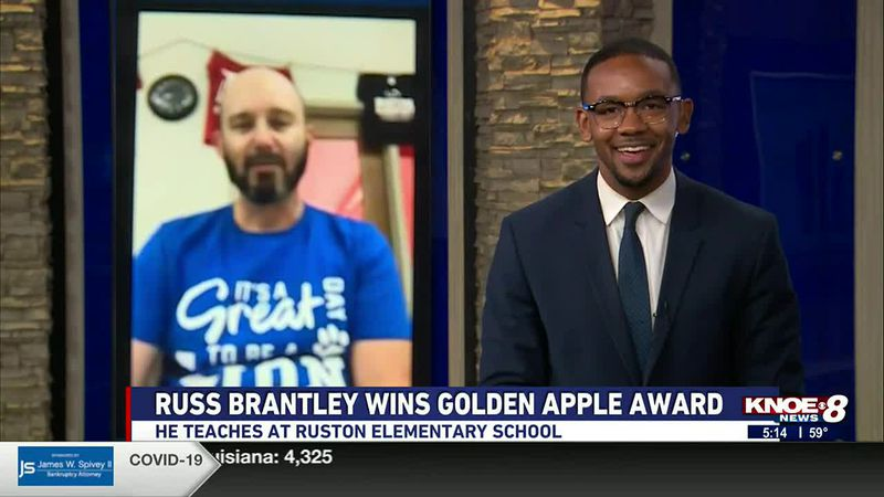 Banner Ford of Monroe Golden Apple Teacher of the Week