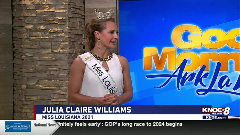 Julia Claire Williams, Miss Louisiana 2021, has been on the job for about a week now, and says...