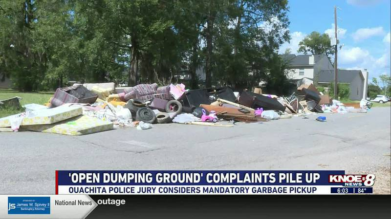Complaints about 'open dumping ground' in Ouachita Parish pile up
