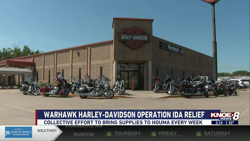 Harley-Davidson dealerships and riding clubs are working together to collect and distribute...