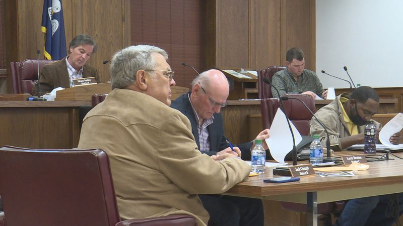 The Ouachita Parish Police Jury approved their budget for 2021 at Monday's Dec. 21 meeting.