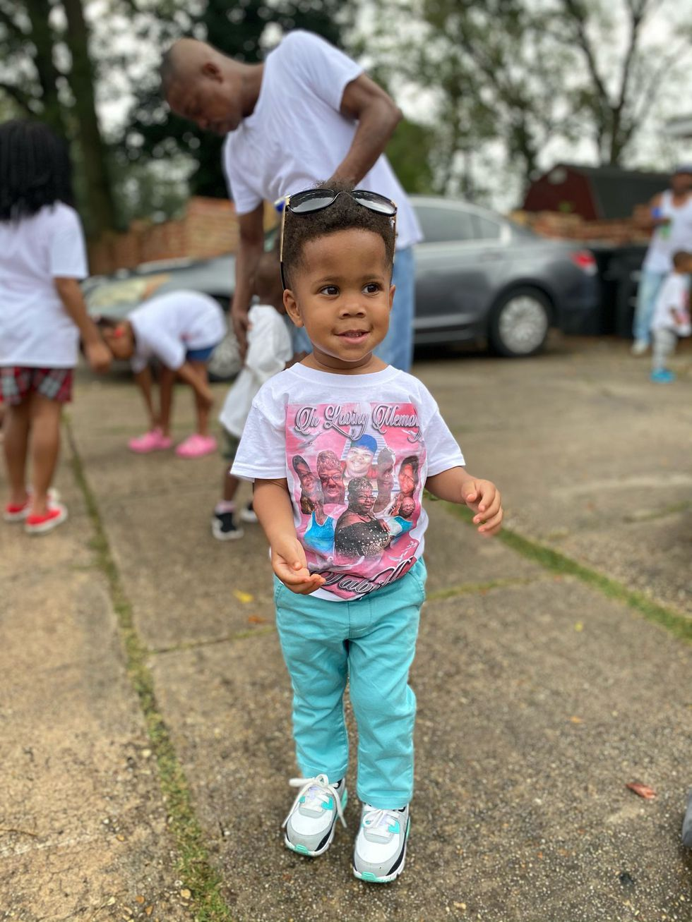 The East Baton Rouge Parish Coroner's Office identified the toddler as Azariah Thomas.